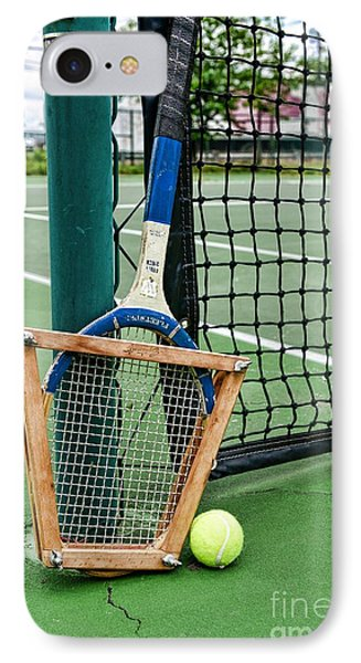 Tennis - Tennis Anyone IPhone Case by Paul Ward