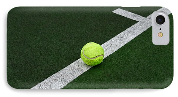 Tennis - The Baseline IPhone Case by Paul Ward