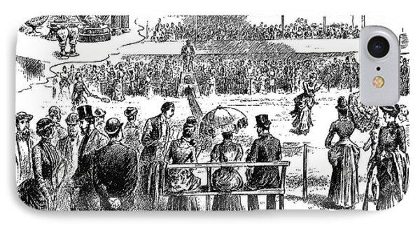 Tennis Wimbledon, 1884 IPhone Case by Granger