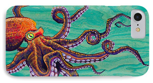 Tentacles IPhone Case by Emily Brantley