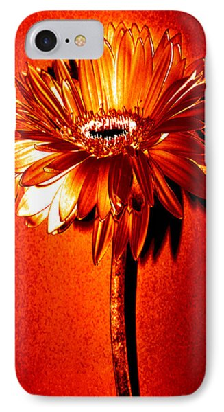 Tequila Sunrise Zinnia IPhone Case by Sherry Allen