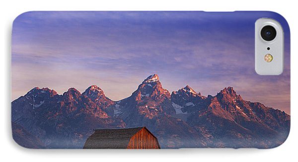 Teton Sunrise IPhone Case by Darren  White