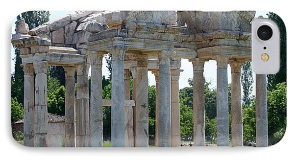Tetrapylon The Arched Gate Of Aphrodisias Phone Case by Tracey Harrington-Simpson