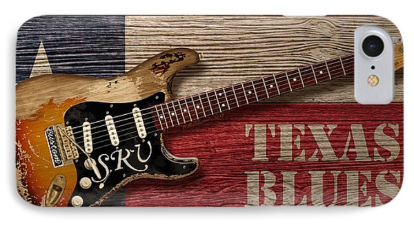 Texas Blues IPhone 7 Case by WB Johnston