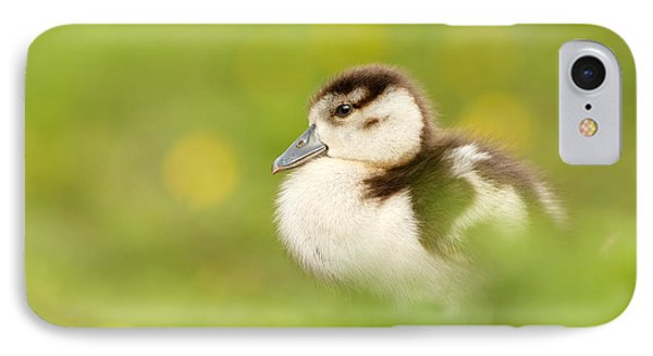 The Gosling In The Grass IPhone Case by Roeselien Raimond