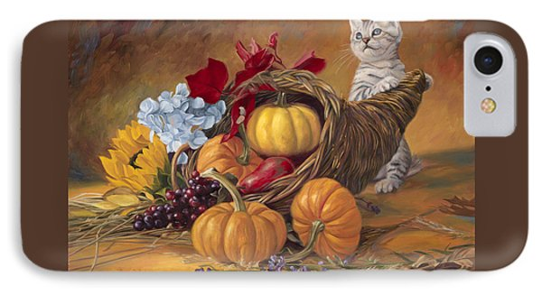 Thankful IPhone 7 Case by Lucie Bilodeau