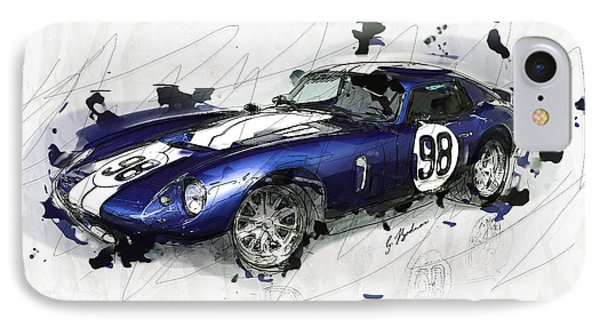 The 1965 Ford Cobra Mustang IPhone Case by Gary Bodnar