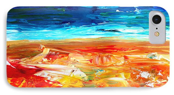 The Abstract Rainbow Beach Series II Phone Case by M Bleichner