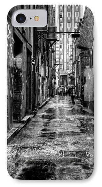 The Alleyway In Market Square - Knoxville Tennesse Phone Case by David Patterson