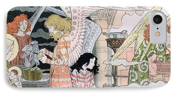 The Angels Kitchen IPhone Case by Eugene Grasset