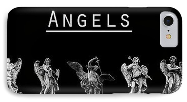 The Angels Of Rome Phone Case by Fabrizio Troiani