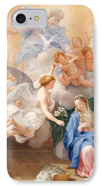 The Annunciation IPhone Case by Giovanni Odazzi