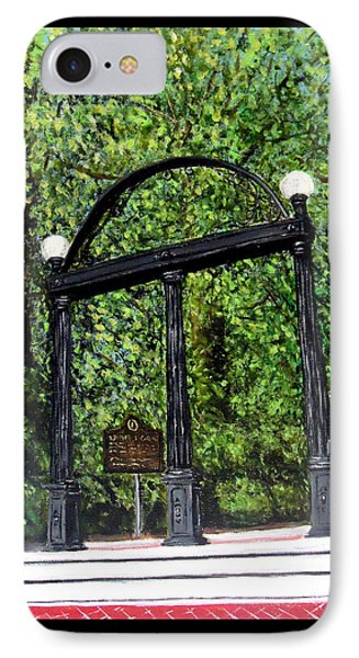 The Arch At Uga IPhone Case by Katie Phillips