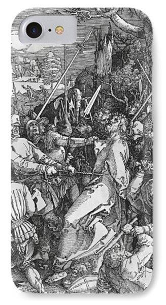 The Arrest Of Jesus Christ IPhone Case by Albrecht Durer or Duerer