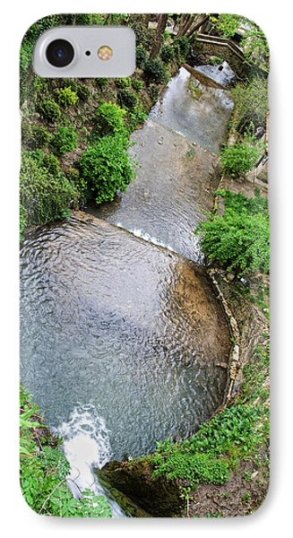 The Artificial River From Balchik Botanical Garden Phone Case by Cristina-Velina Ion
