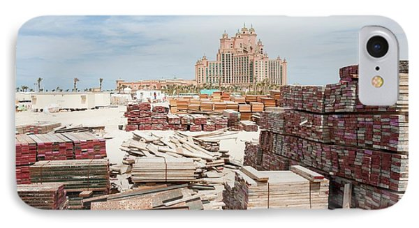 The Atlantis On The Palm IPhone Case by Ashley Cooper