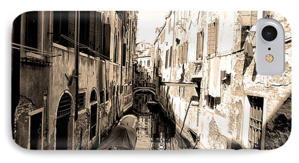 The Back Canals Of Venice Phone Case by Bill Cannon