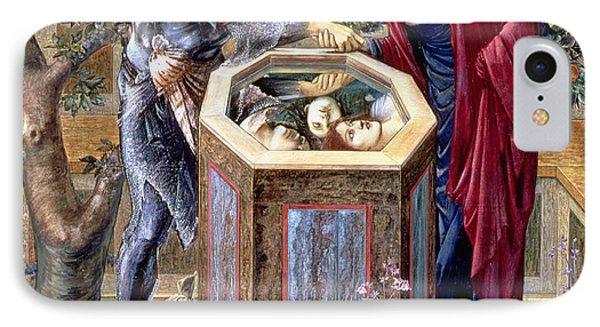 The Baleful Head, C.1876 IPhone Case by Sir Edward Coley Burne-Jones