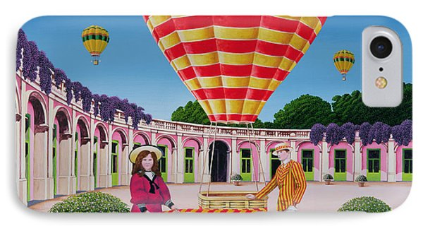 The Balloonist IPhone Case by Anthony Southcombe