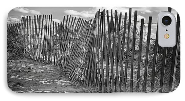 The Beach Fence Phone Case by Scott Norris