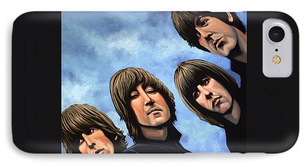 The Beatles Rubber Soul IPhone 7 Case by Paul Meijering