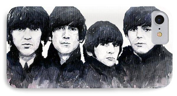 The Beatles IPhone Case by Yuriy  Shevchuk