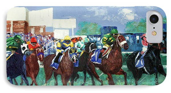 The Bets Are On Again IPhone Case by Anthony Falbo