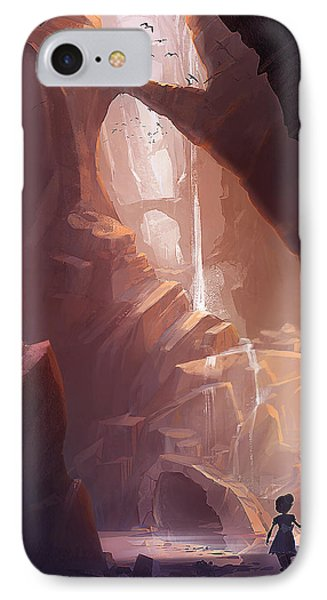 The Big Friendly Giant IPhone Case by Kristina Vardazaryan