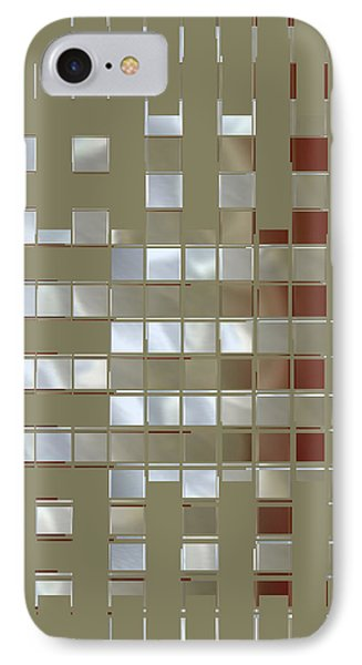 The Birth Of Squares No 1 Phone Case by Ben and Raisa Gertsberg