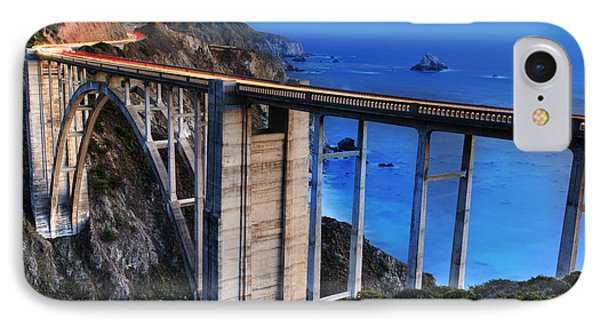 The Bixby Bridge  IPhone Case by Marco Crupi