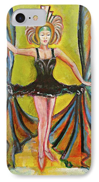 The Black Tutu Phone Case by Tom Conway