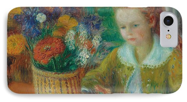 The Breakfast Porch IPhone Case by William James Glackens