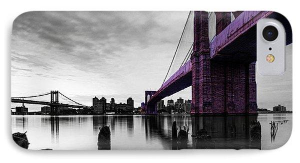 The Brooklyn Bridge Phone Case by Brian Reaves