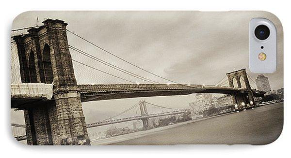 The Brooklyn Bridge IPhone 7 Case by Eli Katz