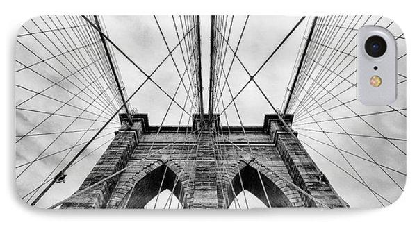 The Brooklyn Bridge IPhone 7 Case by John Farnan