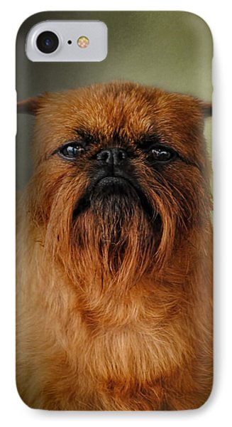 The Brussels Griffon IPhone 7 Case by Jai Johnson
