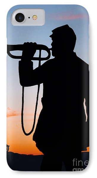 The Bugler Phone Case by Karen Lee Ensley