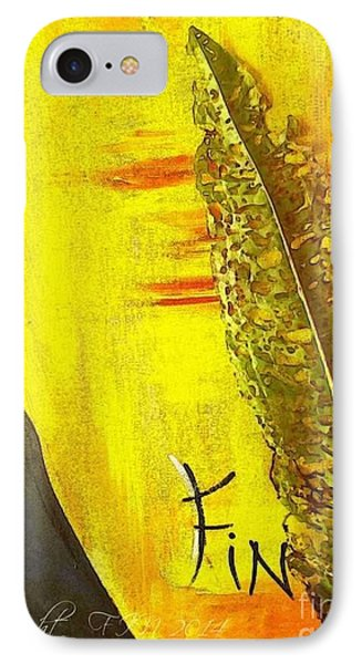 The Bugs Got To It First Phone Case by PainterArtist FIN