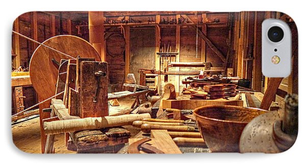 The Carpenter's Tools  IPhone Case by Richard Reeve