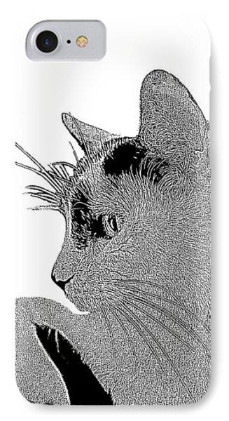 The Cat Phone Case by Ben and Raisa Gertsberg