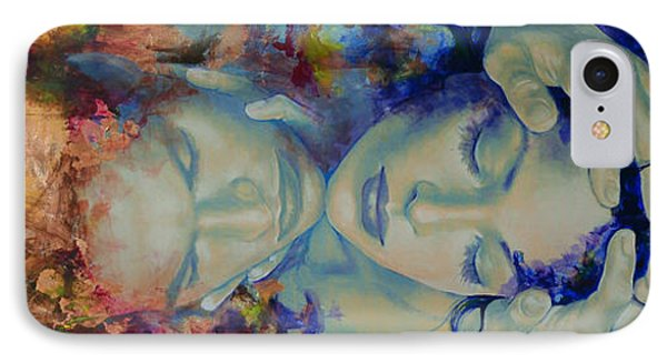 The Celestial Consonance IPhone Case by Dorina  Costras