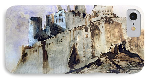The Chateau Of Vianden IPhone Case by Victor Hugo