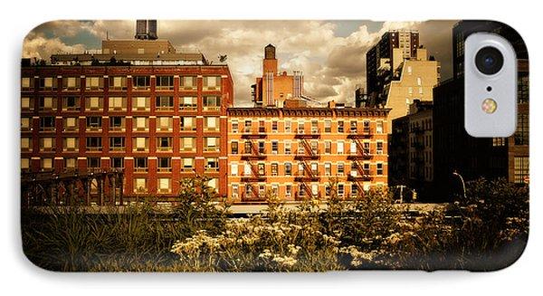 The Chelsea Skyline - High Line Park - New York City Phone Case by Vivienne Gucwa
