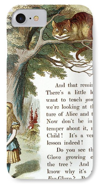The Cheshire Cat IPhone Case by British Library