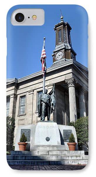 The Chester County Courthouse In West Chester Pa Phone Case by Bill Cannon