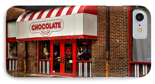 The Chocolate Factory Phone Case by David Patterson