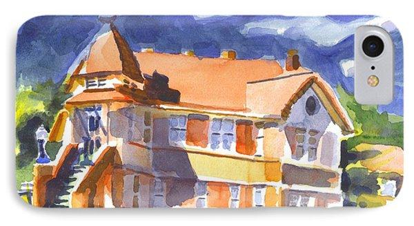 The Church On Shepherd Street II Phone Case by Kip DeVore