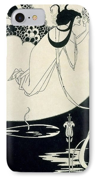 The Climax IPhone Case by Aubrey Beardsley