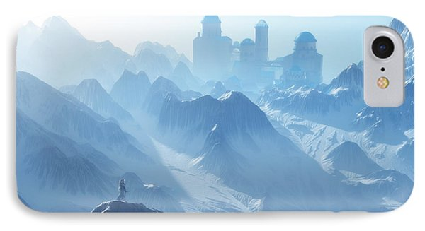 The Cold Light Of Day Phone Case by Melissa Krauss