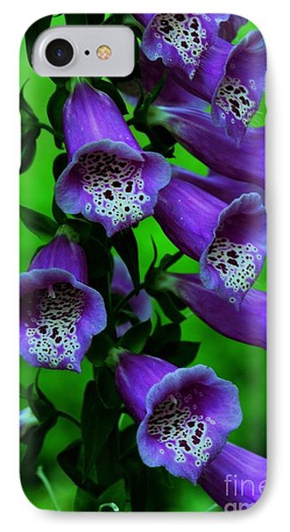 The Color Purple Phone Case by Kathleen Struckle